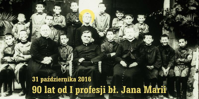 I profesja Jana Marii od Krzyża