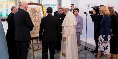 Papież w Szpitalu Dziecięcym w Prokocimiu