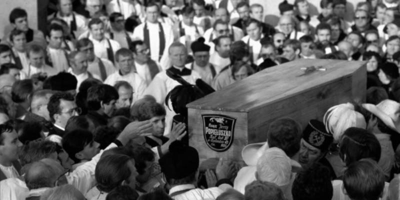 34. rocznica pogrzebu ks. Jerzego Popiełuszki - Wspomnienie