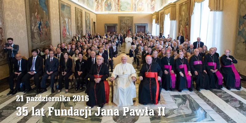 Papieska audiencja dla Fundacji Jana Pawła II
