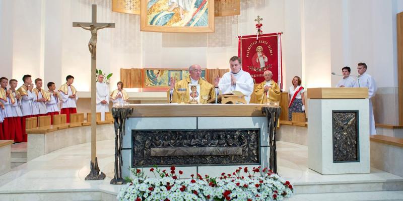 Złoty jubileusz księdza Sławińskiego