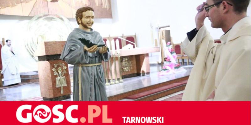Figura o. Strzałkowskiego w Koszycach Małych