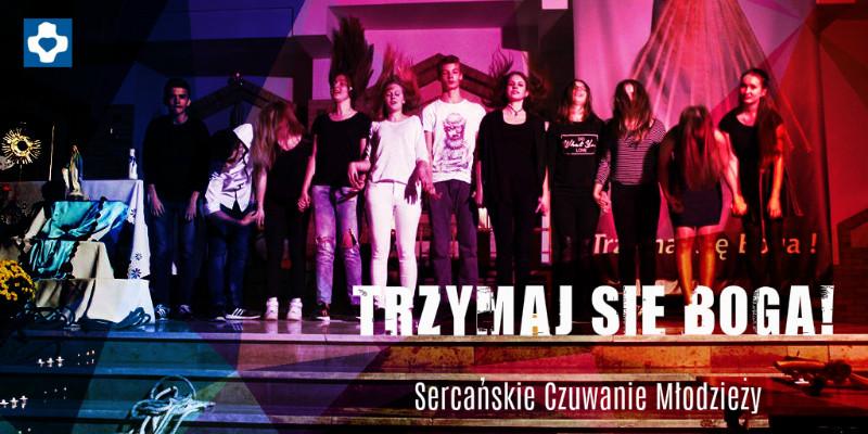 Czuwanie młodzieży w Sosnowcu
