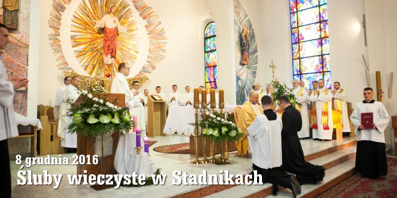 Śluby wieczyste w Stadnikach