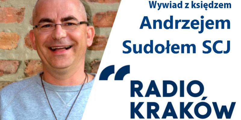 Wywiad w Radio Kraków z ks. Andrzejem Sudołem