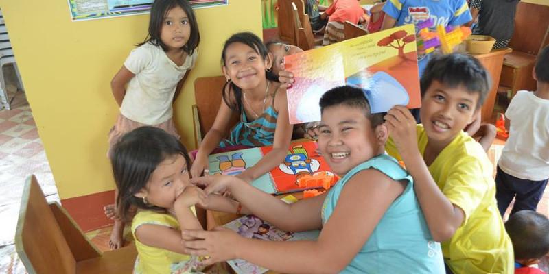 Dzieci z Opol na Filipinach już korzystają z nowej świetlicy