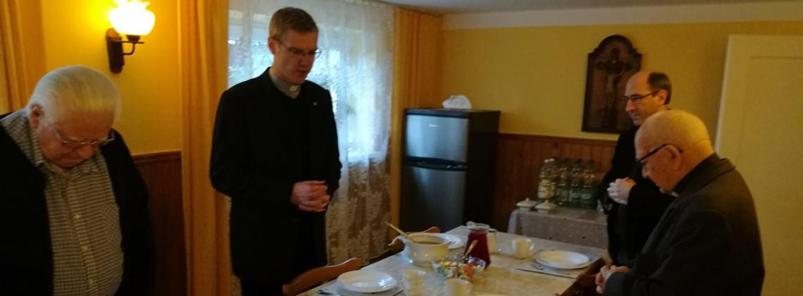 Generał odwiedził wspólnotę w Bieżanowie